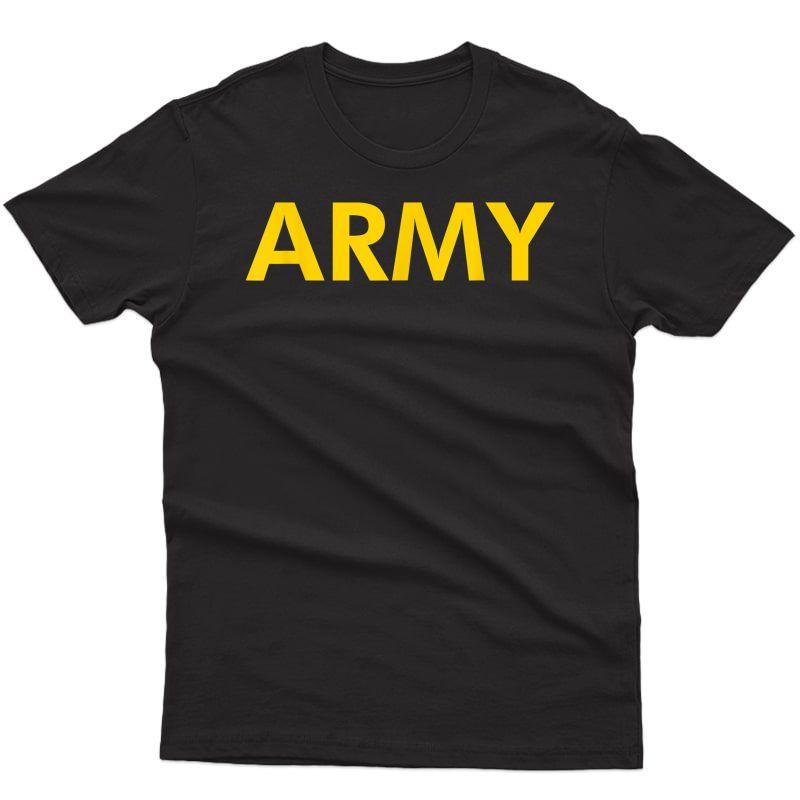 Army Apfu Pt Workout T-shirt