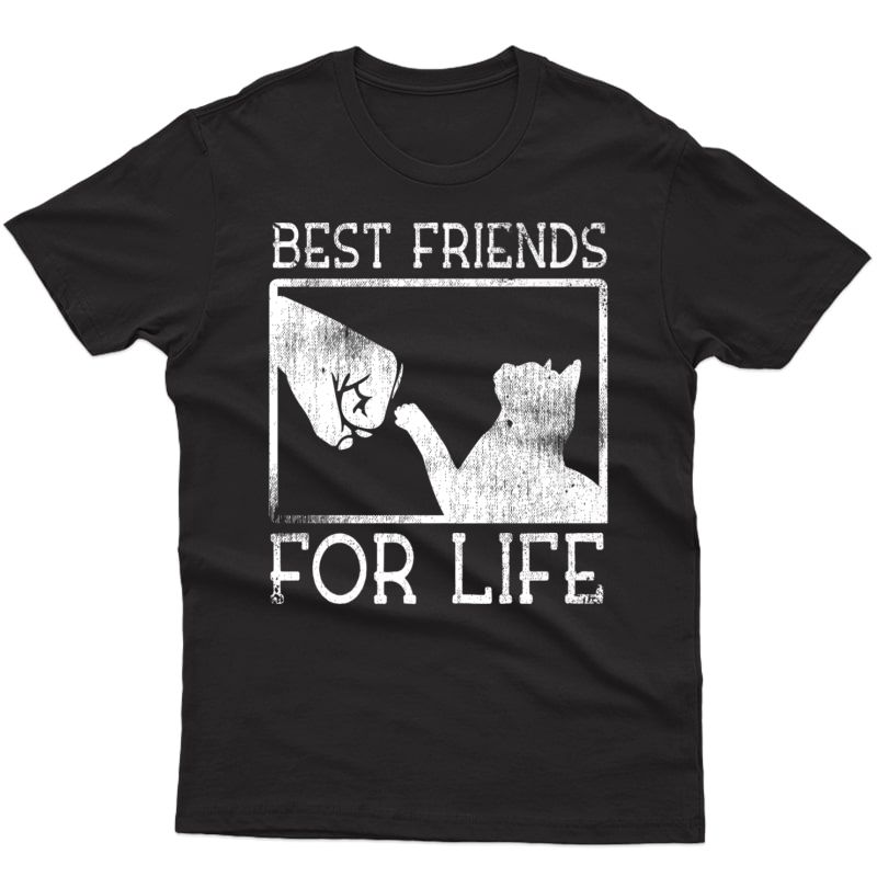 Best Friends For Life Siamese Cat Kitty Pet Shirt