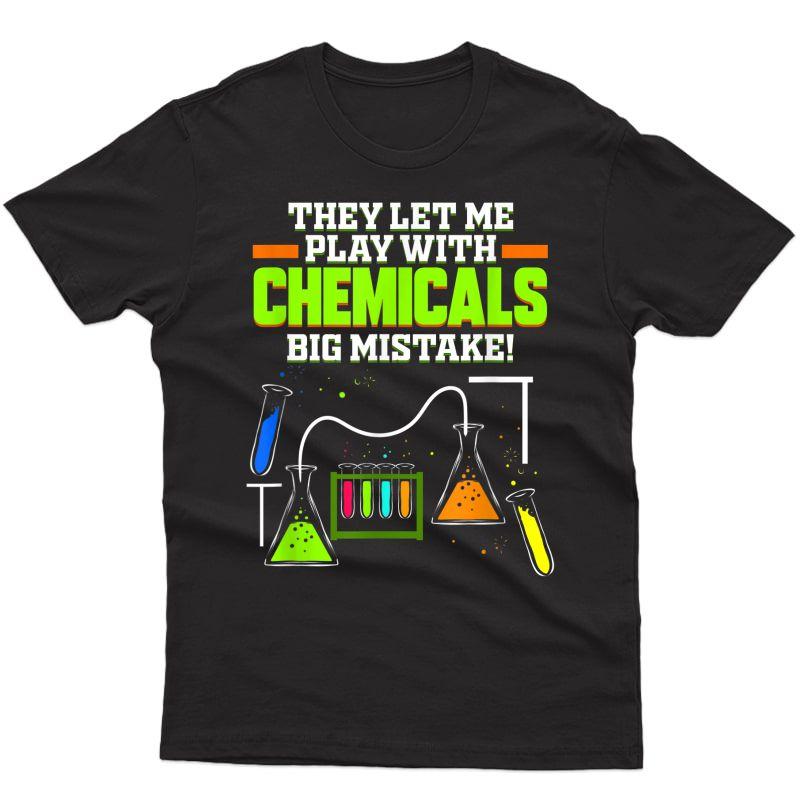 Chemist Gift For Chemical Lab Student Chemistry Tea T-shirt