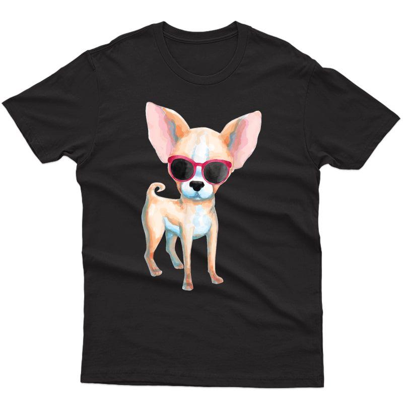 Chihuahua Dog Mom Cute Chihuahua T-shirt