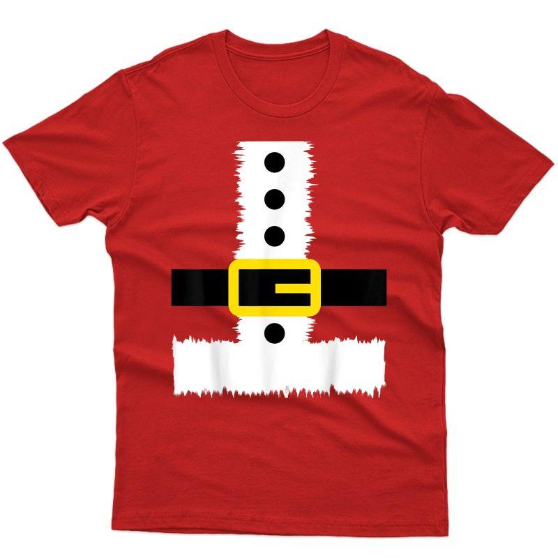 Christmas Santa T-shirt - Santa Claus Costume Fun Santa Suit