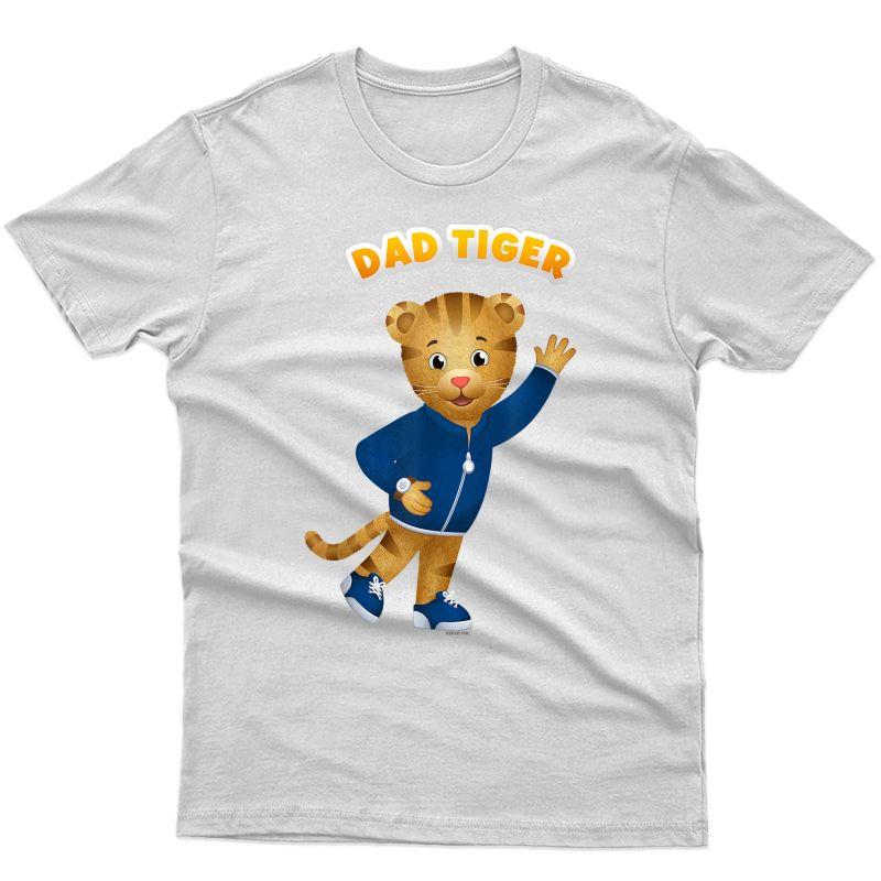 Daniel Tiger's Neigrhood: Dad Tiger T-shirt