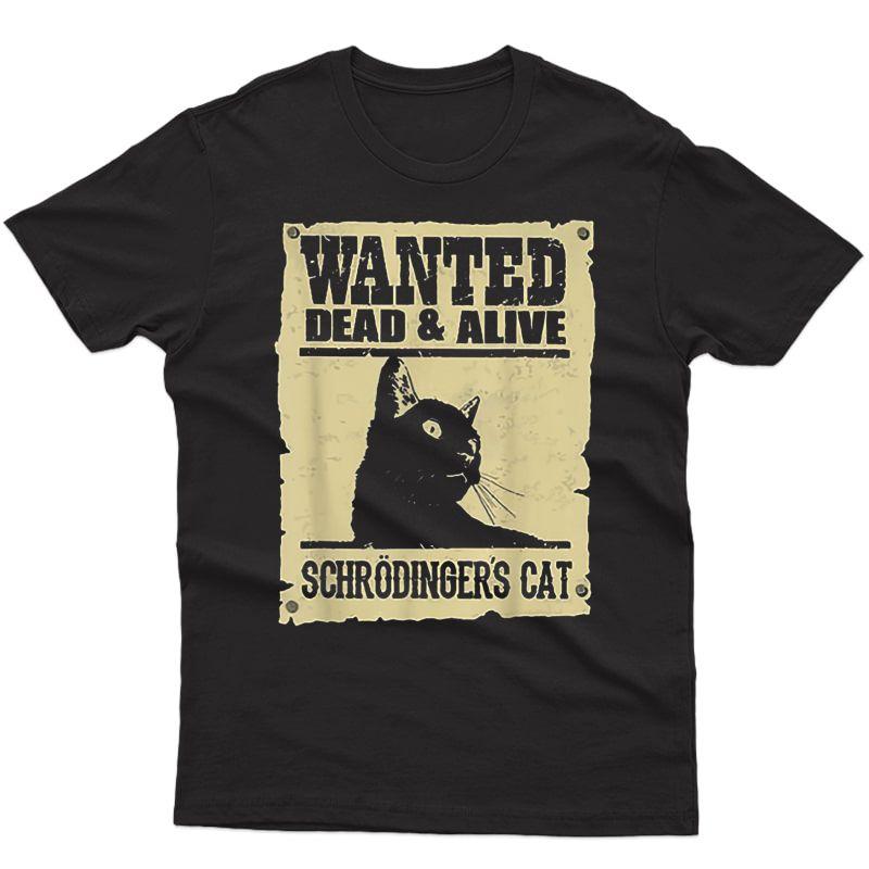 Dead And Alive Schrodinger Cat T-shirt