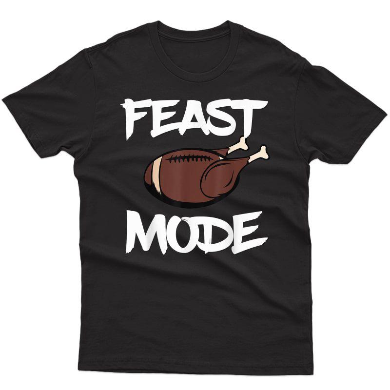 St Mode Football Ball Turkey Thanksgiving Day Shirt T-shirt