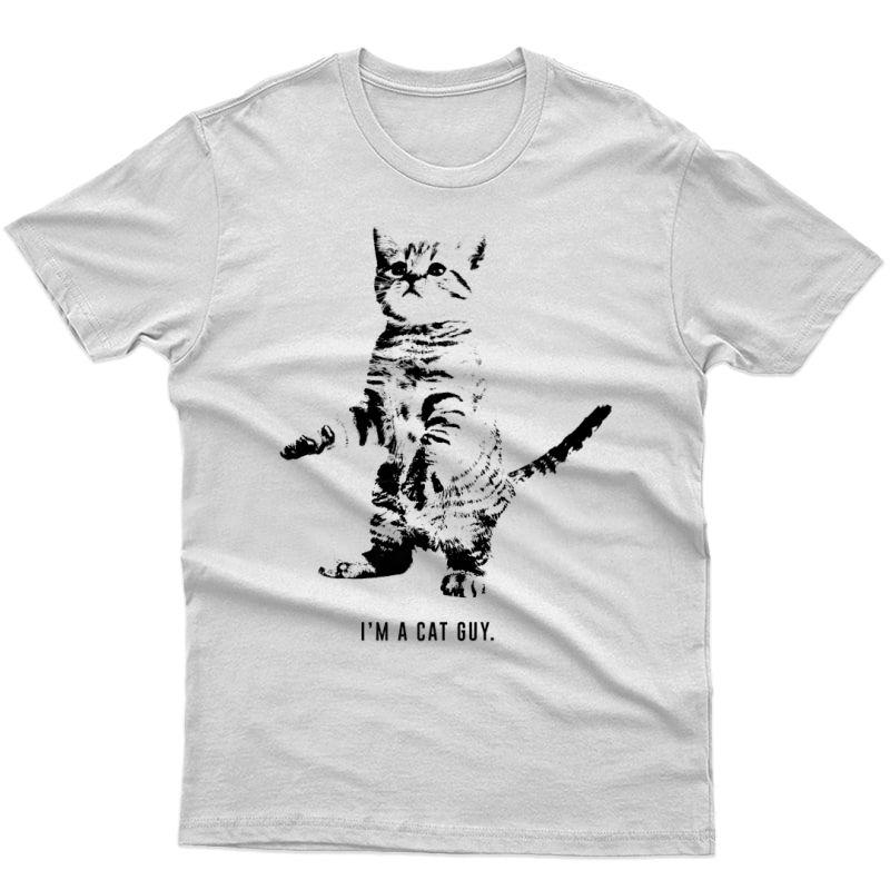Free To Be Cat Guy Shirt, Kitten Shirt, Funny Cat