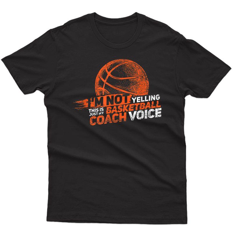Funny Basketball Coach Gift | Hoops Coaches T-shirt