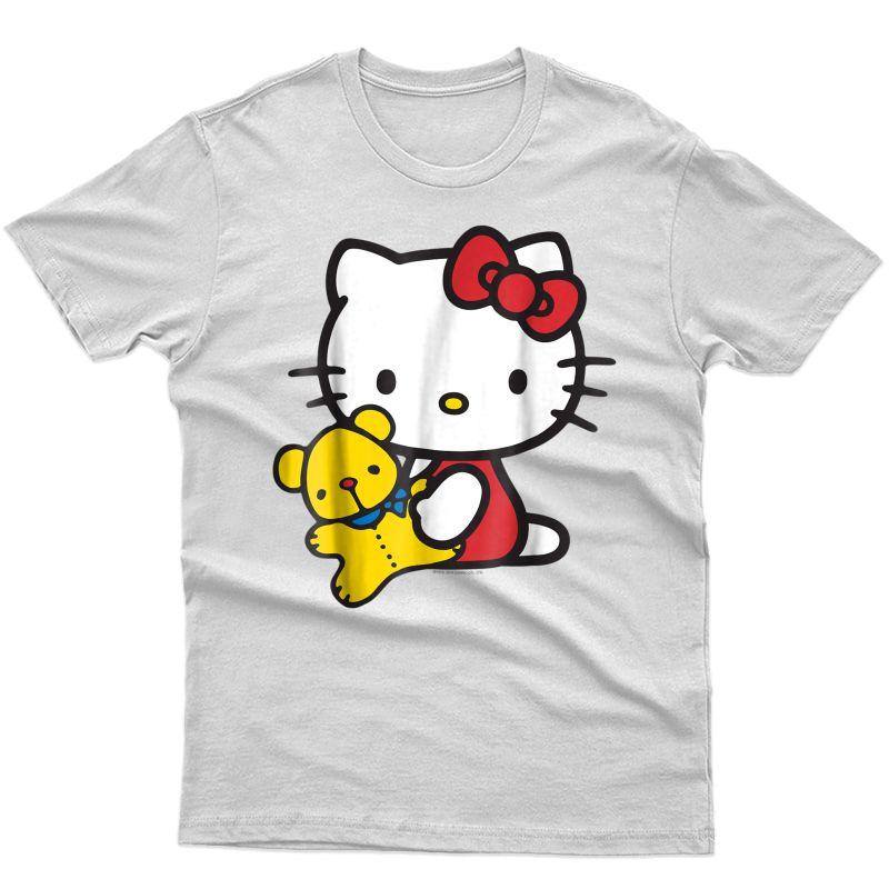 Hello Kitty And Teddy Bear T