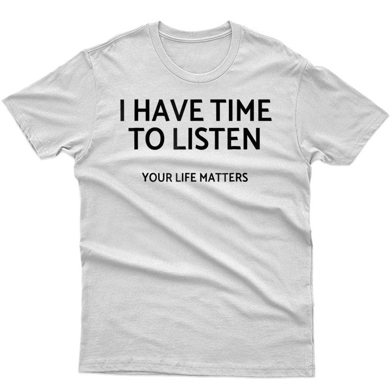 Suicide Prevention Shirt Tea Counselor Tal Health