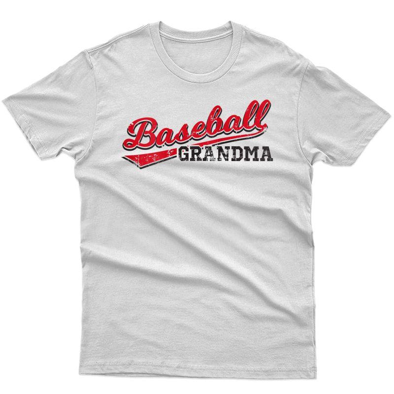 Baseball Grandma Fan Coach Player Apparel Gifts For Tank Top Shirts